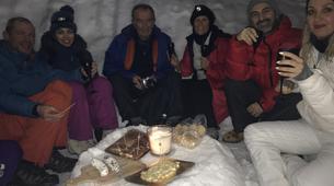 Raquette à Neige-Megève, Evasion Mont Blanc-Randonnée Nocturne Raquettes à Neige à Megève-2