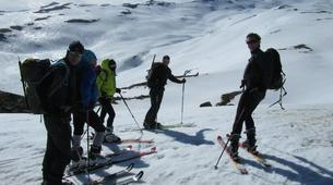 Backcountry Skiing-Sierra Nevada-Freeride skiing and snorwboarding in Sierra Nevada-2