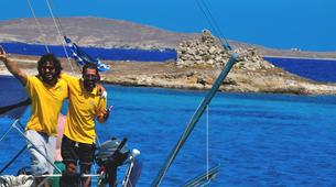 Sailing-Mykonos-Semi-Private Sailing yacht tour from Mykonos to Rhenia and Delos-6