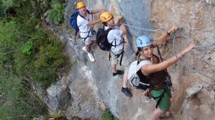 Via Ferrata-Cevennes National Park-Via ferrata of Rousses in the Cevennes National Park-3