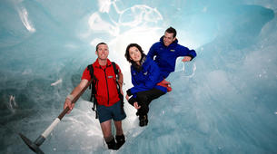 Helicopter tours-Franz Josef Glacier-Glacier Heli Hike in Franz Josef Glacier + Hot Pools Entry-2
