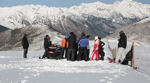 Snowmobiling-Aneto-Snowmobile and snowshoeing excursion in Vall de Boí, The Catalan Pyrenees-6