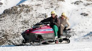 Snowmobiling-Aneto-Snowmobile and snowshoeing excursion in Vall de Boí, The Catalan Pyrenees-5