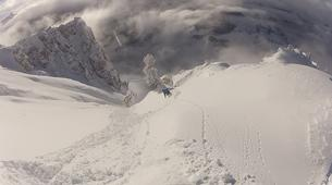 Ski Hors-piste-Cortina d'Ampezzo-Journée Ski Hors-Piste près de Cortina d'Ampezzo-1