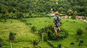Bungee Jumping-Punta Cana-Rope swinging and zip lining near Punta Cana-4