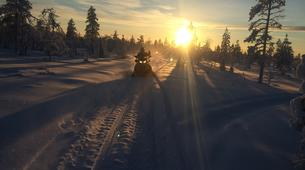 Snowmobiling-Finnmark-Snowmobile safaris in Mehamn, Norway-3