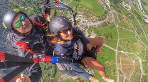 Paragliding-Aosta Valley-Tandem paragliding in Pila, Valle d'Aosta-1