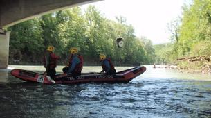 Rafting-Genève-Descente en Rafting de l'Arve près de Genève-2