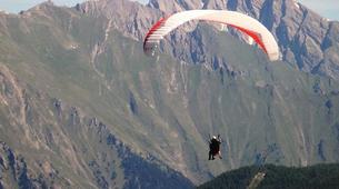 Paragliding-Aosta Valley-Tandem paragliding in Pila, Valle d'Aosta-6