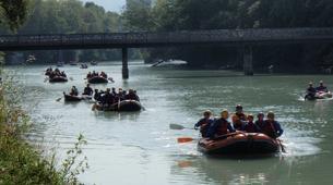 Rafting-Genève-Descente en Rafting de l'Arve près de Genève-5