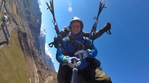 Paragliding-Aosta Valley-Tandem paragliding in Pila, Valle d'Aosta-3