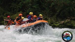 Rafting-Genève-Descente en Rafting de l'Arve près de Genève-3