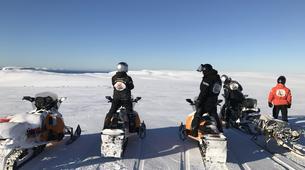 Snowmobiling-Finnmark-Snowmobile safaris in Mehamn, Norway-1