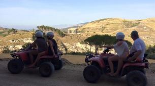 Quad-Calatafimi-Segesta-Quad biking to Polle del Crimiso-1