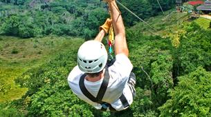 Zip-Lining-Puerto Plata-Canopy tour in Monkey Jungle from Puerto Plata-6