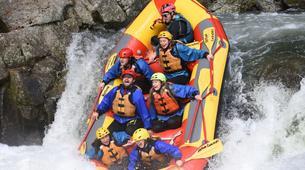 Rafting-Rotorua-Rafting down the Wairoa River near Rotorua-9