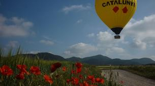 Hot Air Ballooning-Barcelona-Hot air balloon flights near Montserrat from Barcelona-5