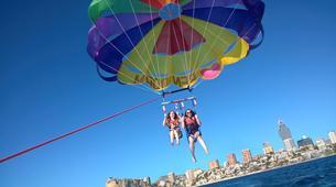 Parachute ascensionnel-Benidorm-Parasailing flights over the coast of Benidorm-6