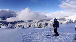 Ski touring-Flaine, Le Grand Massif-Ski touring excursion in Flaine, Grand Massif-1