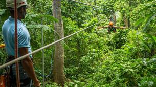 Bungee Jumping-Punta Cana-Rope swinging and zip lining near Punta Cana-6