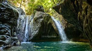 Canyoning-Puerto Plata-Aquatic hiking in the Damajagua Falls near Puerto Plata-2