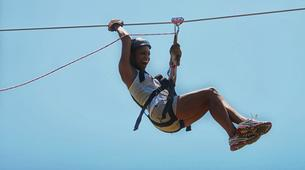 Zip-Lining-Puerto Plata-Canopy tour in Monkey Jungle from Puerto Plata-5