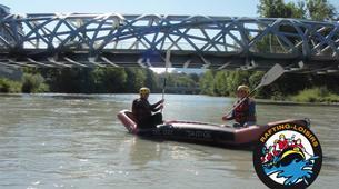 Rafting-Genève-Descente en Rafting de l'Arve près de Genève-6