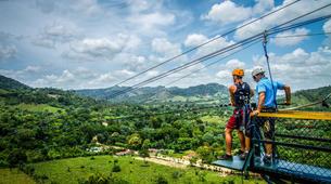 Bungee Jumping-Punta Cana-Rope swinging and zip lining near Punta Cana-1