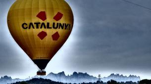 Hot Air Ballooning-Barcelona-Hot air balloon flights near Montserrat from Barcelona-9