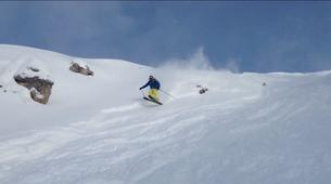 Ski Hors-piste-Cortina d'Ampezzo-Journée Ski Hors-Piste près de Cortina d'Ampezzo-4