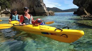 Sea Kayaking-Abel Tasman National Park-Sea kayaking and hiking excursion in Abel Tasman-3