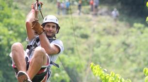 Zip-Lining-Puerto Plata-Canopy tour in Monkey Jungle from Puerto Plata-3