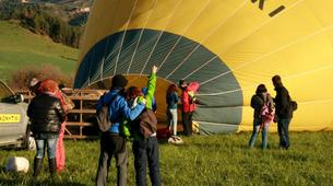 Hot Air Ballooning-Barcelona-Hot air balloon flights near Montserrat from Barcelona-11