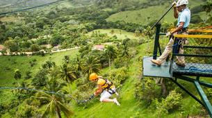 Bungee Jumping-Punta Cana-Rope swinging and zip lining near Punta Cana-3