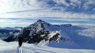 Ski touring-Flaine, Le Grand Massif-Ski touring excursion in Flaine, Grand Massif-6