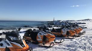 Snowmobiling-Finnmark-Snowmobile safaris in Mehamn, Norway-2