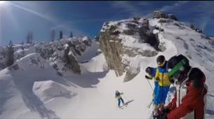 Ski Hors-piste-Cortina d'Ampezzo-Journée Ski Hors-Piste près de Cortina d'Ampezzo-6