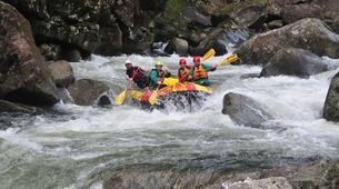 Rafting-Rotorua-Rafting down the Wairoa River near Rotorua-7