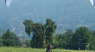 Paragliding-Aosta Valley-Tandem paragliding in Pila, Valle d'Aosta-5