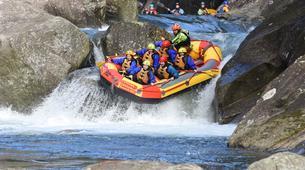 Rafting-Rotorua-Rafting down the Wairoa River near Rotorua-8