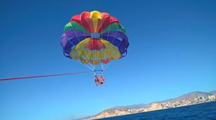 Parachute ascensionnel-Benidorm-Parasailing flights over the coast of Benidorm-4