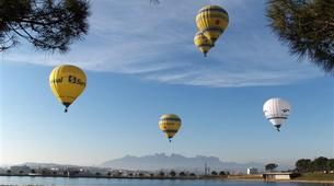 Hot Air Ballooning-Barcelona-Hot air balloon flights near Montserrat from Barcelona-6