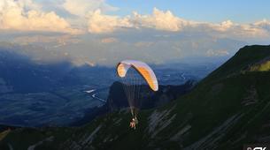 Paragliding-Oberstdorf-Tandem paragliding in Bolsterlang near Oberstdorf-1