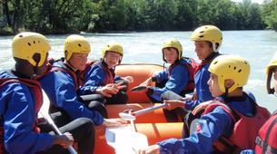 Rafting-Genève-Descente en Rafting de l'Arve près de Genève-7
