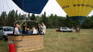 Hot Air Ballooning-Barcelona-Hot air balloon flights near Montserrat from Barcelona-8