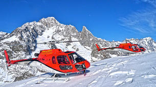 Helicopter tours-Aosta Valley-Scenic helicopter flight over Monte Rosa, Aosta Valley-1