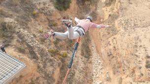 Bungee Jumping-Alicante-Rope swinging in Villena (35m) near Alicante-2