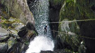 Canyoning-Ariege-Marc Canyon in the Vicdessos valley, Ariege-6