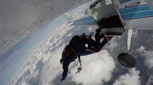 Parachutisme-Stuttgart-Tandem skydive over Schwabisch Hall near Stuttgart-7