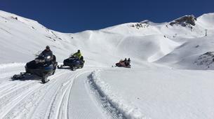 Motoneige-Aneto-Snowmobile excursions in Cerler near Aneto-1